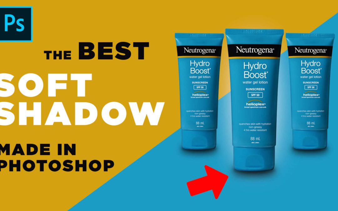 Blog Post: The Best Soft Shadow Made in Photoshop.