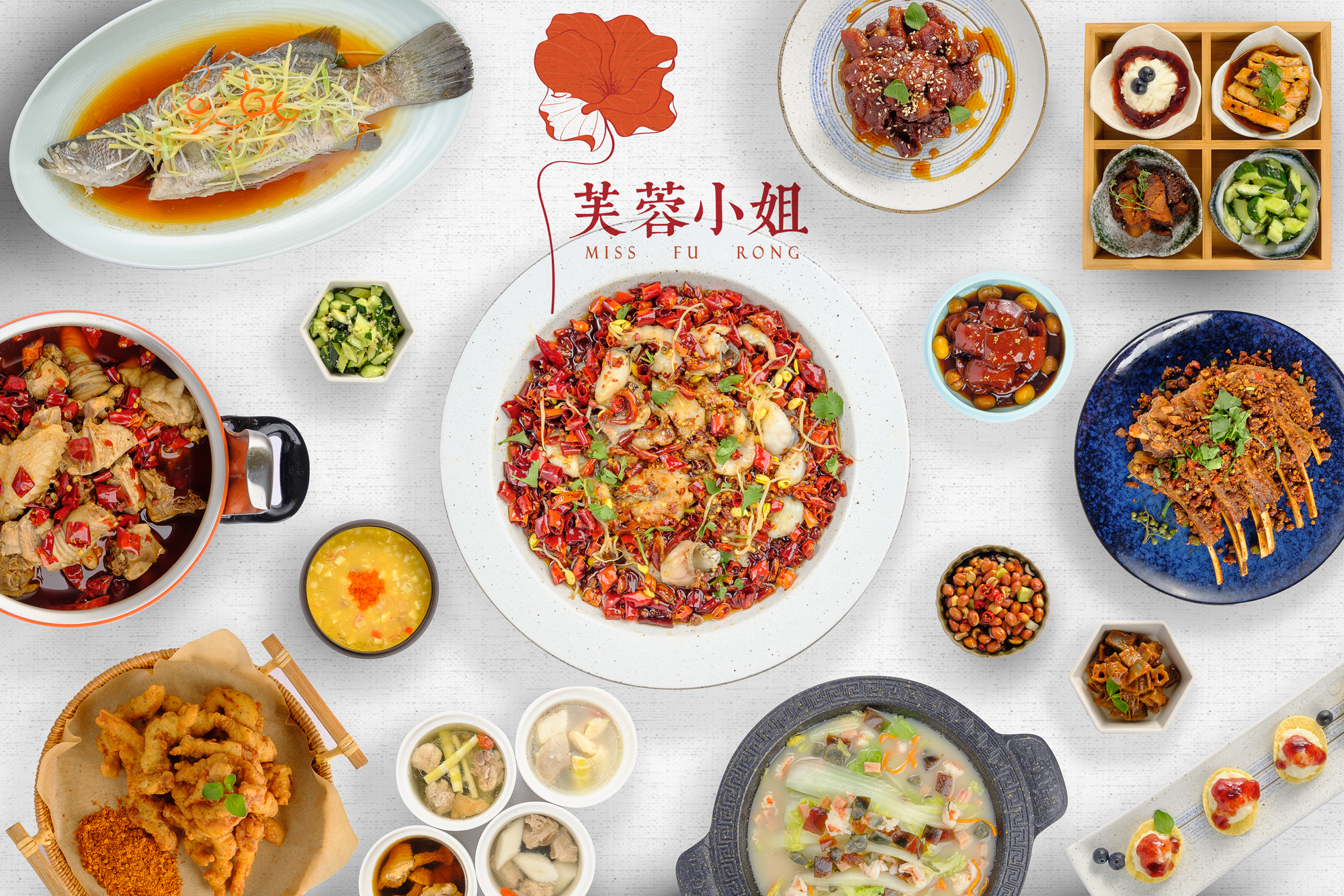 Food Photography for Miss Fu Rong by Wenbo Zhao Photography Hero Image