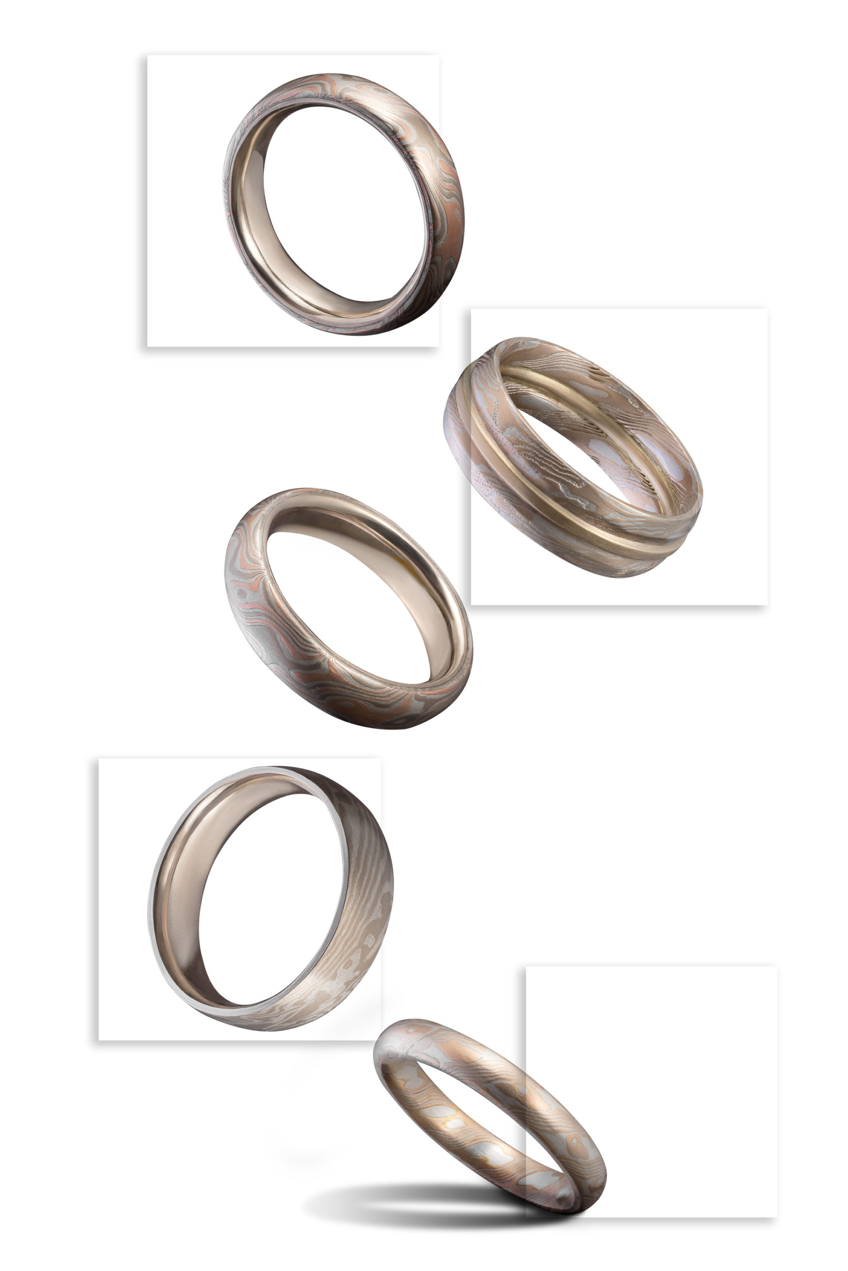 Jewellery photography with Object Maker-Mokume Gane-levating ring set-wenbozhao photography-Sydney