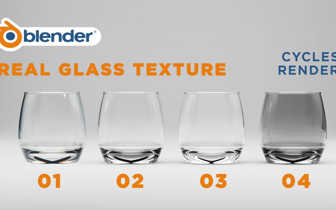 Real Glass Texture Blender Tutorial (Quick Blender Tips)